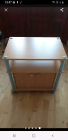 Tv Stand / Hallway Table 30kg Max Weight Castors can be removed