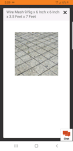 Looking for  cement mesh