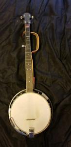 Washburn B10 5 String Banjo