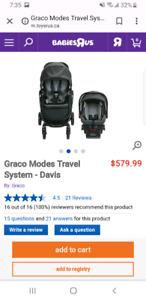 Graco Car seat & Stroller