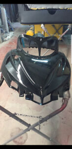 HOOD FOR SALE TO FIT 2011 ARTIC CAT M8 FRESHLY PAINTED .