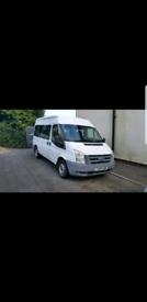 Mk7 transit minibus 9 seater ideal campervan