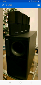 Bose Speakers with Amplifier
