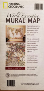 Map of the World by National Geographic