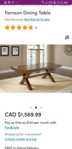 Modern Extendable Dinning Table!