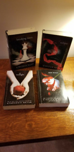 TwilightSeries - 4 Large Print  Hardcover Books