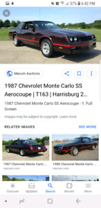 Looking to buy 87 monte carlo ss