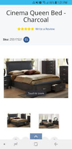 QUEEN SIZE BED & MATTRESS FOR SALE