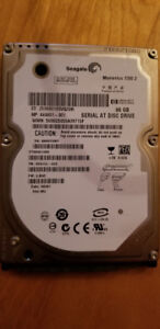 "Disque dur Seagate HP ST980813AS / 444801-001 2.5"" SATA 80GB"