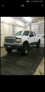 Lifted 2000 ford f250 v10