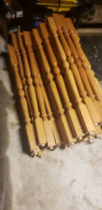 wooden spindles for stairs
