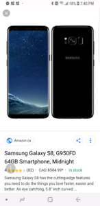 64 GB Samsung Galaxy S8