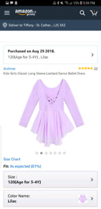 Toddler Leotard with skirt