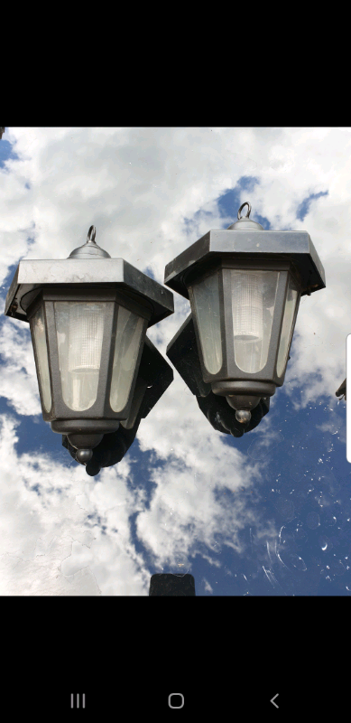Lantern Style Garden Led Lights In Leicester Leicestershire Gumtree