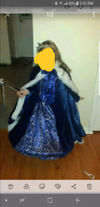 Snow queen Halloween costume size 5/6