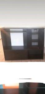 Meuble tv noir à vendre en bon état