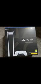 Sony PS5 Digital -**IN HAND,READ DESCR