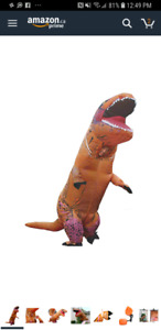 T rex costume for sale.  $80