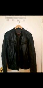 Danier/Fall season Motorcycle cafe racer jacket