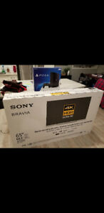 "65"" Sony Bravia 4K Ultra Hd TV"