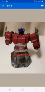 Transformers statue bust optimus prime