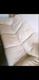 3 + 3 Leather sofas