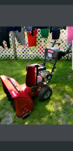 Brand new craftsman snowblower trade for lawn tractor