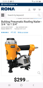 Bostitch BRN175A Roofing nailer
