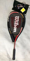 Wilson Squash Racquet + ball and goggles