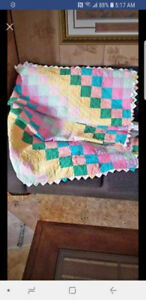 Amish made quilt.