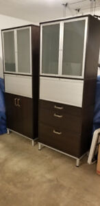 2 Office Cabinets/Shelving Units
