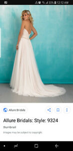 NEVER WORN- Allure wedding dress style #9324 Size 8