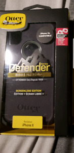 Brand new in box iphone x or Xs defender otterbox case. $40