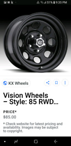 NEW USED STEEL RIMS