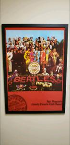 The Beatles Framed Canvas