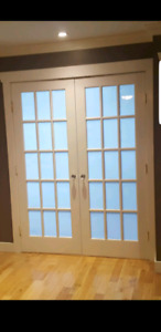 Interior White French Doors
