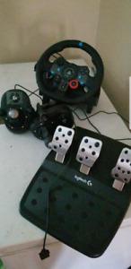 Logitech g29 and 2 shifter