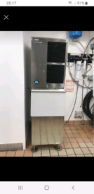Very large commercial ice machine