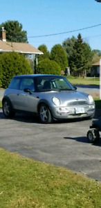 Looking to trade my 02 mini Cooper 5 speed.