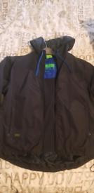 Hugo boss waterproof coat jacket