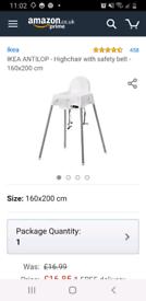 IKEA baby food chair