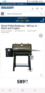 Traeger Wood Pellet Barbecue - 440 sq. in. - Black and Copper