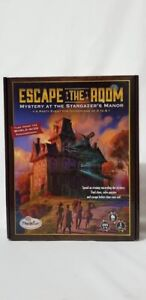 Escape the Room - Mystery at the Stargazer's Manor Thinkfun Game