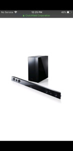 Wireless Sound Bar with Subwoofer