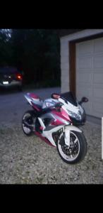 2008 Suzuki Gsxr 600cc