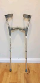 Comfy handle adjustable coopers crutches