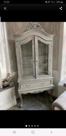 Vintage large display cabinet