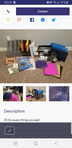 !!MOVING!! Large lot of office supplies