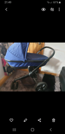 Quinny Moodd 3 in 1 pramette/pushchair/carseat with adaptors