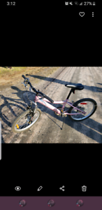 Girls bike with 20 inch tires